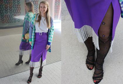 #Stylizacje Avanti24. Jeśli fiolet to z fantazją! Tu nie ma miejsca na minimalizm