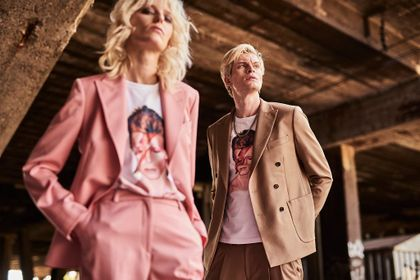 David Bowie w kolekcji Vistuli na jesień 2021. Nietuzinkowy artysta jest jej bohaterem