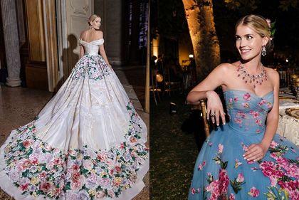 Kitty Spencer wzięła ślub... w pięciu sukienkach! Wszystkie były piękne