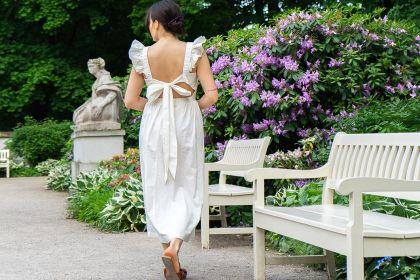 #Stylizacje Avanti24.pl - Wiktoria Nestoruk w rustykalnej sukience. To model z kolekcji znanej sieciówki