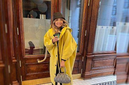 Małgorzata Socha w żółtym prochowcu w sam raz na deszczowy dzień! To model marki znanej na całym świecie!