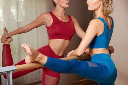 To najwygodniejsze spodnie do uprawiania sportu. Modele z siateczką wyszczuplają i są bardzo kobiece!
