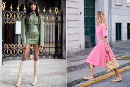 Pastelowe sukienki na wiosnę z Reserved - różowa jest śliczna i kosztuje niewiele! Zobacz codzienne i kotajlowe propozycje