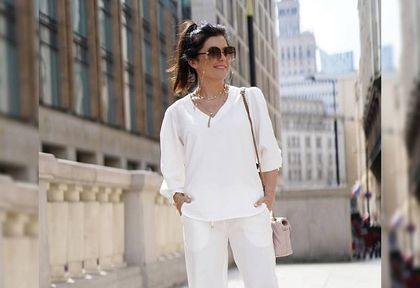 Katarzyna Cichopek cała na biało zachwyca fanów. Te spodnie to doskonała alternatywa dla niewygodnych jeansów!