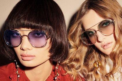 Jakie okulary przeciwsłoneczne kupić na wiosnę? Modne oprawki z wyprzedaży luksusowej, francuskiej marki do -74%!