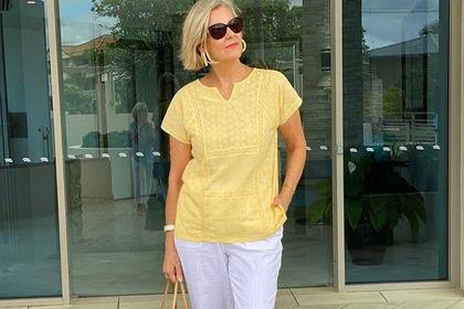 50-latki pokochają te bluzki na lato! Modele w delikatnych, pastelowych kolorach odmłodzą!
