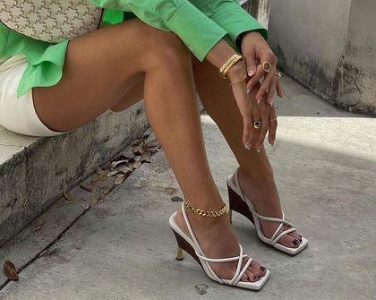 Sandały na niskim obcasie to gorący hit na lato! Są niezwykle eleganckie i wysmuklają nogi