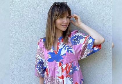 Marta Żmuda-Trzebiatowska podbiła serca fanek sukienką z wyprzedaży. To model z uwielbianej przez Polki sieciówki!