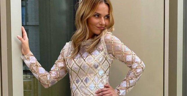 Get the look: Paulina Sykut-Jeżyna olśniewa w błyszczącej sukience. Nie możemy oderwać oczu!
