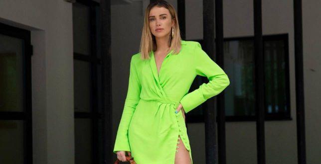Get the look: Maffashion w supermodnej sukience z Zary! Blogerka udowodniła, że poduszki na ramionach znów są w modzie!