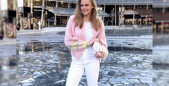 Get the look: Karolina Pisarek zadaje szyku w casualowej stylizacji! Te spodnie to prawdziwy hit na lato, a klapki robią furorę!