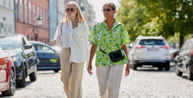 Bluzki z Lidla - TOP 12 modeli na wiosnę. Model z bawełny w roślinne printy kupisz za 29,99 zł!