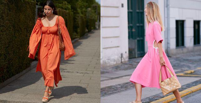 Romantyczne sukienki na wakacyjny wyjazd. Modne wzory i kobiece kroje przyciągają uwagę