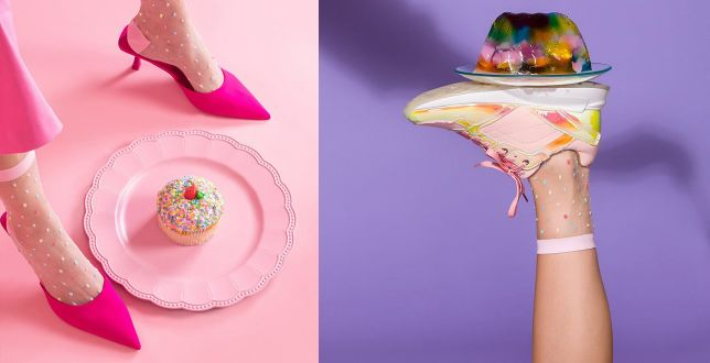 Insta Style: te skarpetki na lato królują na Instagramie. Model w kolorowe kropki to HIT!