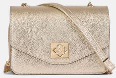 Złota torebka damska