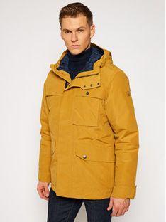 Jack Wolfskin Kurtka zimowa Wildwood 1113651 Żółty Regular Fit