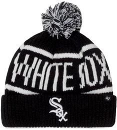 Czapka 47 BRAND - New York Yankees Calgary Cuff Knit B-CGLY06ACEXH-BK Black