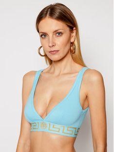 Versace Biustonosz braletka Donna AUD01047 Niebieski