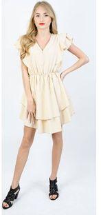 Sukienka Olika bezowy