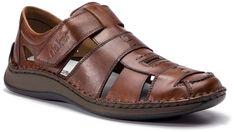 Sandały RIEKER - 05274-25 Braun