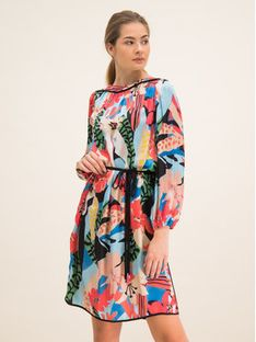 Laurèl Sukienka codzienna 11052 Kolorowy Regular Fit