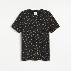 Reserved - Koszulka z nadrukiem - Czarny