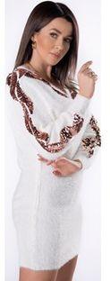 Sukienka Ptakmoda.com z dzianiny
