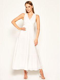 Sportmax Code Sukienka codzienna Cannes 72210504 Biały Regular Fit