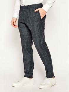 Strellson Spodnie garniturowe 11 Kynd 30020942 Granatowy Slim Fit