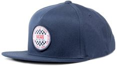 Czapka z daszkiem VANS - Og Checker Snap VN0A45FGLKZ1 Dress Blues