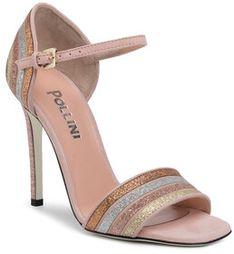 Pollini Sandały SA1601AC1ATQ160A Różowy