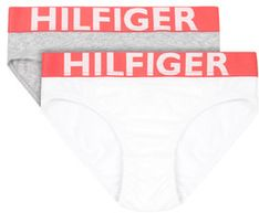 TOMMY HILFIGER Komplet 2 par fig 2P Bikini UW0UW00216 Szary Regular Fit