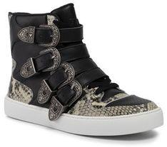 TwinSet Sneakersy Sneaker 192TCT080 Czarny