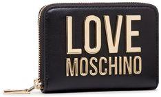 Duży Portfel Damski LOVE MOSCHINO - JC5613PP1CLJ000A Nero
