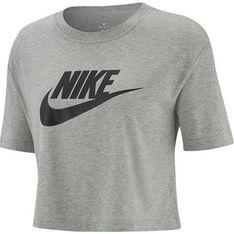 Nike bluzka damska z krótkim rękawem tkaninowa z okrągłym dekoltem