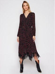 DKNY Sukienka codzienna P0JBVHOK Czarny Regular Fit