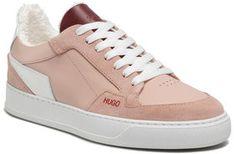 Hugo Sneakersy Vera Lace Sneaker 50447267 10201909 01 Beżowy