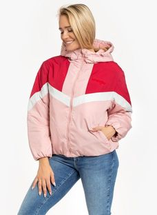 "Wrangler ""Colour Block Jacket"" Bridal Rose"