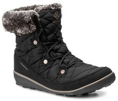 Columbia Śniegowce Heavenly Shorty Omni-Heat BL1652 Czarny