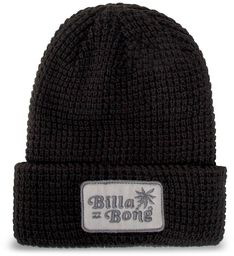Czapka BILLABONG - Walled U5BN29BIF0  Black 19
