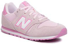 Sneakersy NEW BALANCE - YC373SP Różowy
