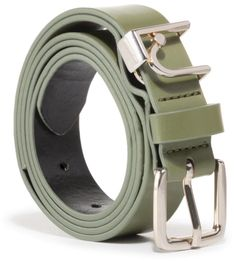 Pasek Damski LIU JO - Cintura Tess.Sint Pl UA0113 E0433 Vert Militarie X0261