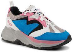MSGM Sneakersy Scarpa Donna 2741MDS2086 704 83 Niebieski