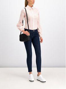 Trussardi Jeans Koszula 56C00189 Różowy Slim Fit