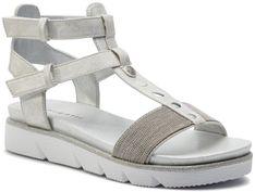 Sandały BUGATTI - 431-67383-6465-1212 Light Grey/Light Grey