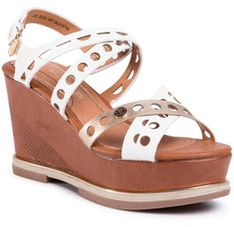 Wrangler Sandały Toledo Jeanies WL01570A Biały