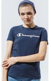 Bluzka damska Champion sportowa z krótkimi rękawami