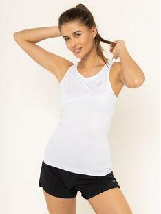 Asics Koszulka techniczna Club W Tank 2042A101 Biały Regular Fit