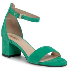 Sandały KARINO - 3004/066-P Zielony