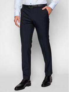 Oscar Jacobson Spodnie materiałowe Damien 537 8515 Granatowy